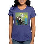 T-Rex at the Dentist Womens Tri-blend T-Shirt