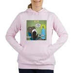 T-Rex at the Dentist Women's Hooded Sweatshirt