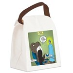 T-Rex at the Dentist Canvas Lunch Bag