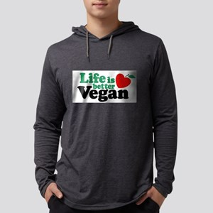 Life is Better Vegan Long Sleeve T-Shirt