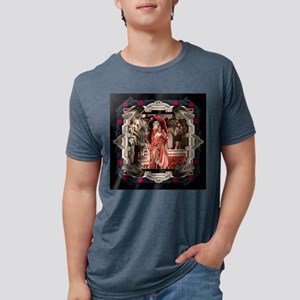 Red Death in Rose Frame T-Shirt