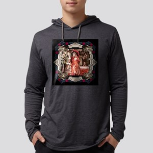 Red Death in Rose Frame Long Sleeve T-Shirt