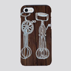 egg beater kitchen utensil a iPhone 8/7 Tough Case