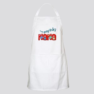 I'm going to be a Nana BBQ Apron