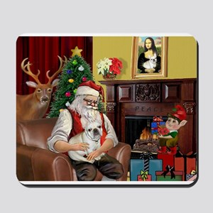 Santa's French BD (1) Mousepad