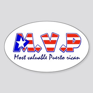 Most valuable Puerto rican Oval Sticker
