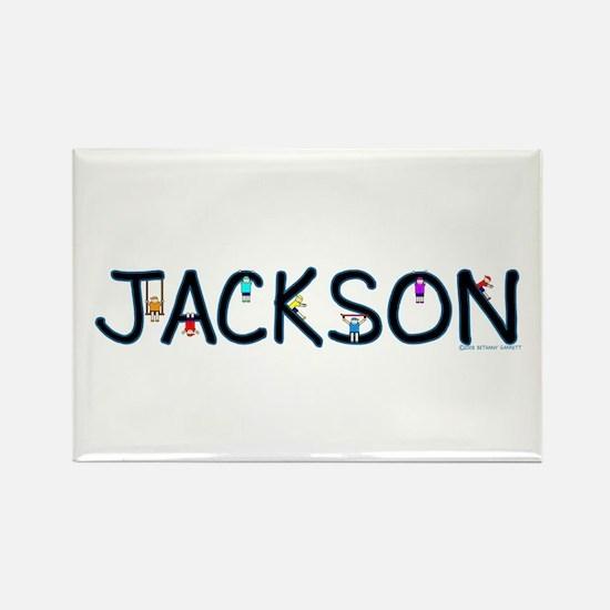 Jackson (Boy) Rectangle Magnet