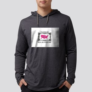 pink 50 states club Long Sleeve T-Shirt