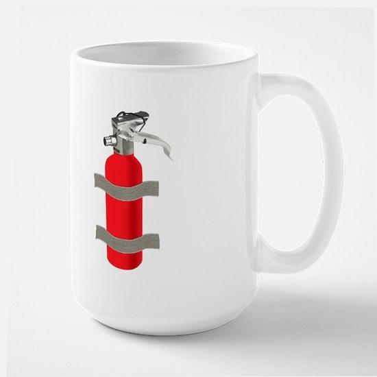 Where's the Fire? Large Mug