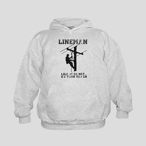 Lineman T Shirt Sweatshirt