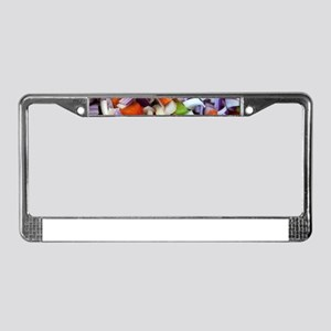 Onions and Bell Peppers License Plate Frame