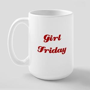 Girl Friday Large Mug