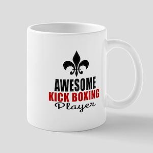 Awesome Kickboxing Player Mug