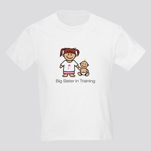 """Big Sister in Training"" Kids T-Shirt"