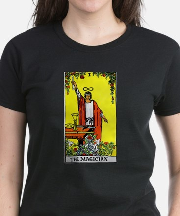 """The Magician"" Women's Dark T-Shirt"
