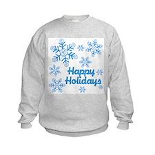 VolleyChick Snowflake Kids Sweatshirt