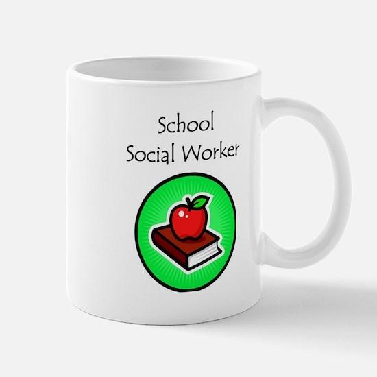 School Social Worker Mug