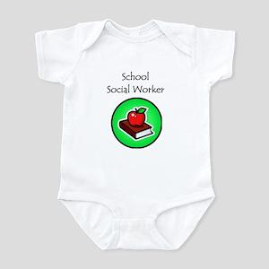School Social Worker Infant Bodysuit