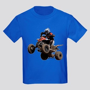 Orange Quad Kids Dark T-Shirt