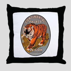 Saigon Vietnam Throw Pillow