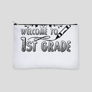 1st Grade Teacher Makeup Bag