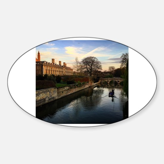 Cambridge Sticker (Oval)