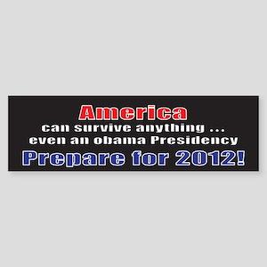 America 2012 Bumper Sticker