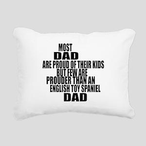 English Toy Spaniel Dog Rectangular Canvas Pillow
