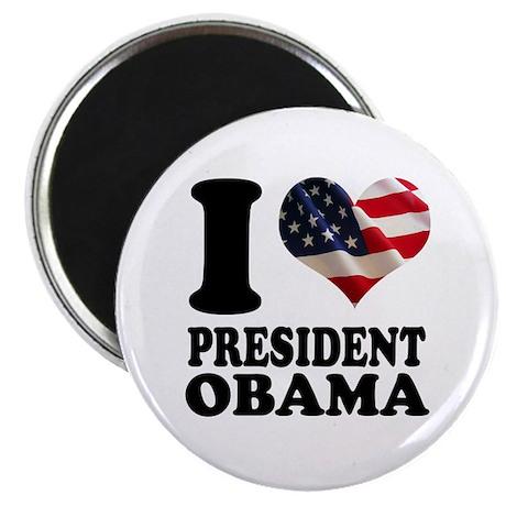 """I love President Obama 2.25"""" Magnet (10 pack)"""