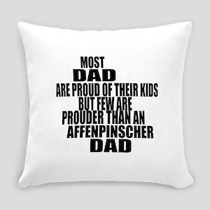 Affenpinscher Dog Dad Everyday Pillow