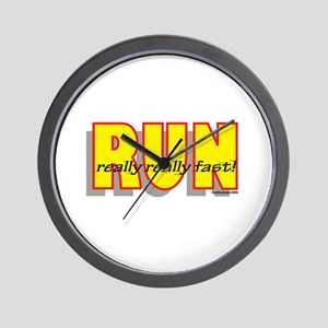 RUN Really Fast Wall Clock