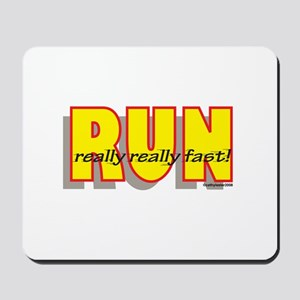 RUN Really Fast Mousepad