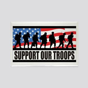 Support Our Troops! Rectangle Magnet