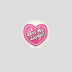 I Love My Zaydie Mini Button