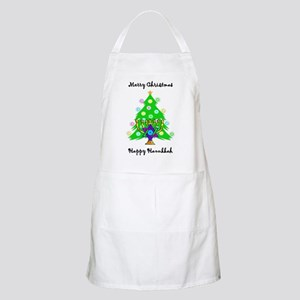 Hanukkah and Christmas Interfaith Apron