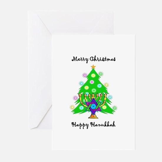 Hanukkah and Christmas Interfaith Greeting Cards (