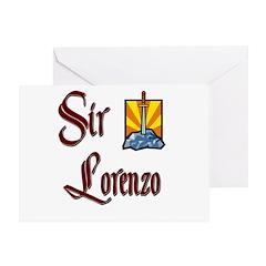 Sir Lorenzo Greeting Card