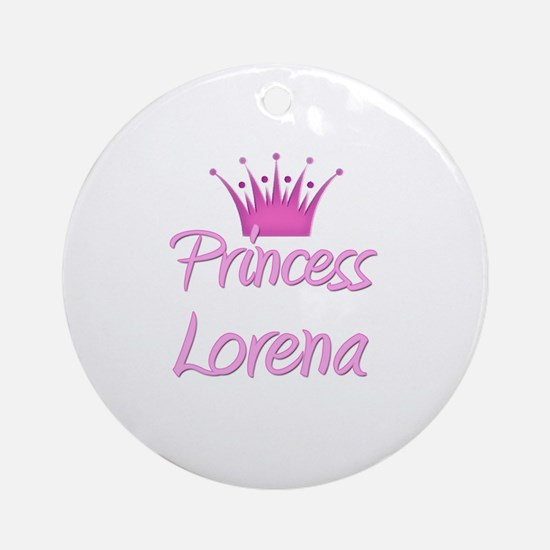 Princess Lorena Ornament (Round)
