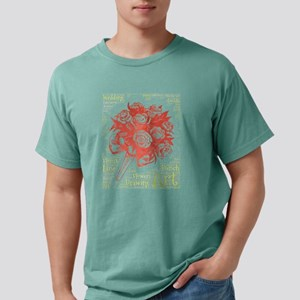 wedding flowers bunch florist T-Shirt