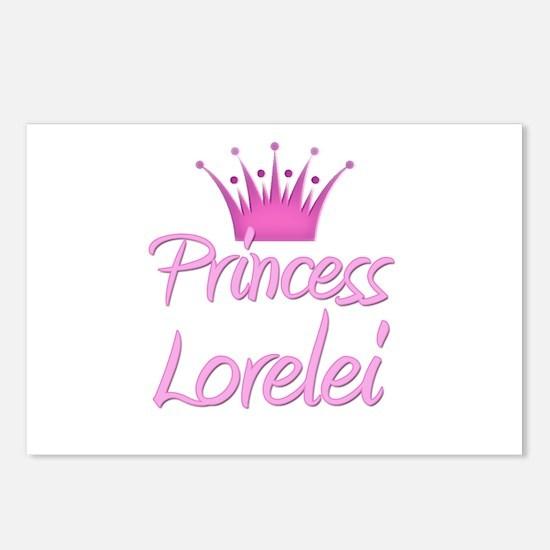 Princess Lorelei Postcards (Package of 8)