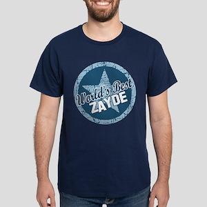 Worlds Best Zayde Dark T-Shirt