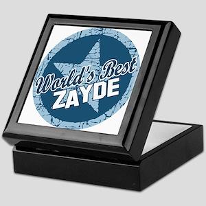 Worlds Best Zayde Keepsake Box