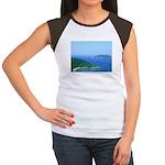 Caribbean Islands Women's Cap Sleeve T-Shirt