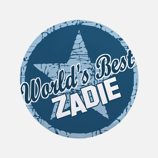 "World's Best Zadie 3.5"" Button"