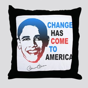 Change Has Come Throw Pillow
