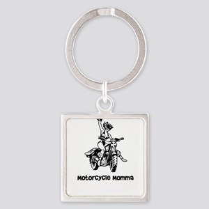 Motorcycle Momma Gift for Motorcycle Chi Keychains