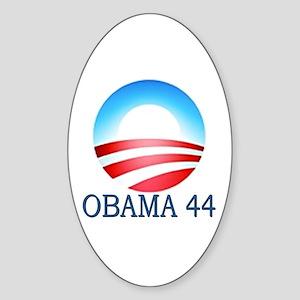 Obama 44 Oval Sticker