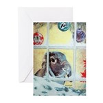 Pokey Lop Rabbit Christmas Cards (Pk of 20)