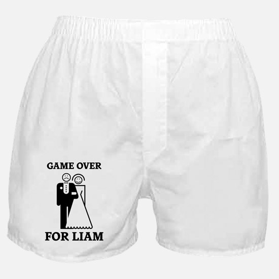 Game over for Liam Boxer Shorts