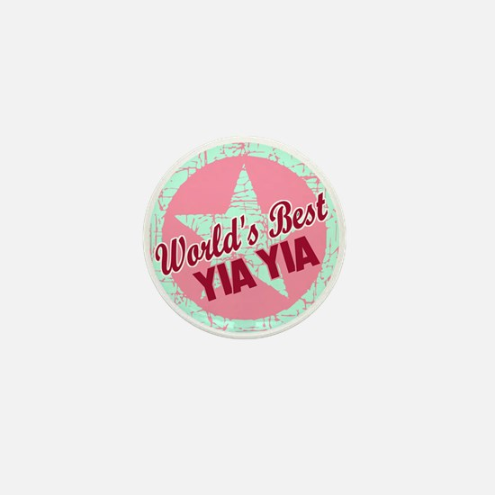 The World's Best Yia Yia Mini Button